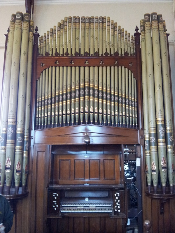 Wood Pipe Organ Builders has restored this two manual Casson instrument in a chapel in Eglwysbach, Wales