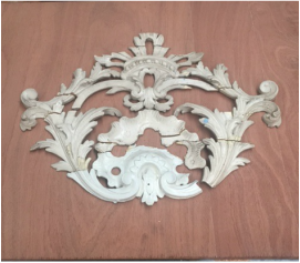 An 18th century wood carving by Leonard Snetzler rediscovered by Wood Pipe Organ Builders