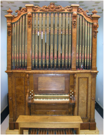 A Conacher organ in the Sibelius Academy, Finland restored by Wood of Huddersfield